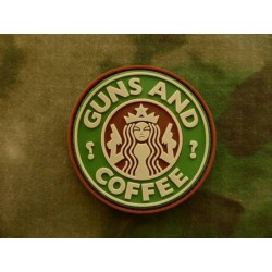 Parche JTG Guns and Coffee...