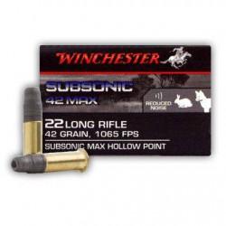 Municion Winchester .22 LR...