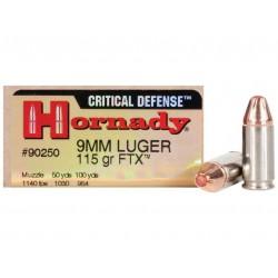 Munición Hornady 9 mm 115...