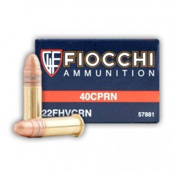 Munición Fiocchi .22 LR High 40 CPRN