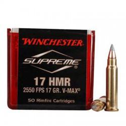 Munición Winchester .17 HMR...