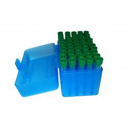 Pack Tubos Pedersoli Plástico 7 cm 50 unid.