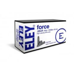 Munición Eley .22 LR Force...