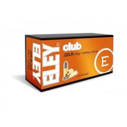 Munición Eley .22 LR Club...