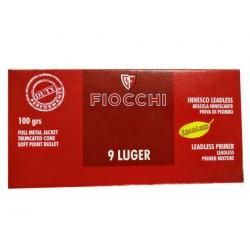 Munición Fiocchi 9 Pb 100...