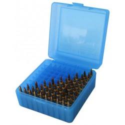 Caja MTM .17-222 100 Cartuchos Azul