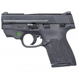 Pistola Smith&Wesson M&P9 M2 Shield Láser Verde
