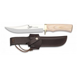 Cuchillo Albainox Steel Madera Blanca 11.3 cm