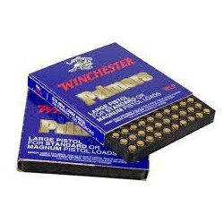 Pistones Winchester LR Magnum 100 und.
