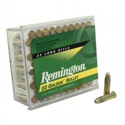 Munición Remington .22 LR Alta Velocidad 100 und