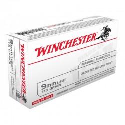 Munición Winchester 9 Pb 115 FMJ