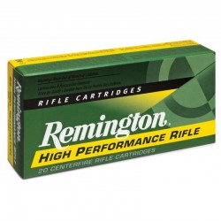Munición Remington 22-250 Rem Core Lokt