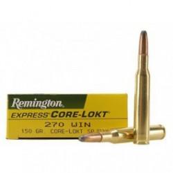 Munición Remington 270 Win 115g. Core Lokt