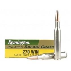 Munición Remington 270 Win Safari