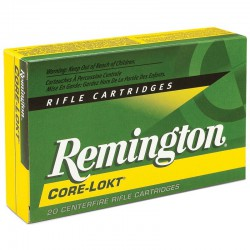 Munición Remington .280 Rem 165g. Core Lokt