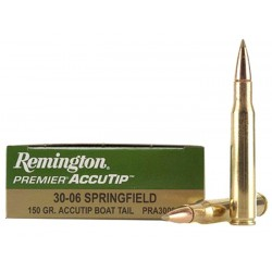 Munición Remington 30-06 Spr 150g. Accutip