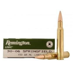 Munición Remington 30-06 Spr 150g. Entrenamiento