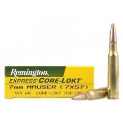 Munición Remington 7x57 Mauser Core Lokt