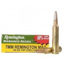 Munición Remington 7mm Rem Mag Core Lokt