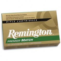 Munición Remington .308 Win 168 Match