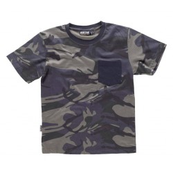 Camiseta Hunterteam Camuflaje