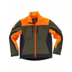 Chaqueta Hunterteam Workshell Combinada Tricolor