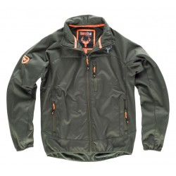 Chaqueta Hunterteam Workshell Verano Afelpado