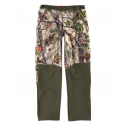 Pantalón Hunterteam Workshell Combinado Vegetal