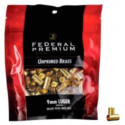 Vainas Federal 9mm.  Bagged Brass 100 und.