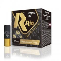 Cartucho Rio 12 Royal 36 gr 6