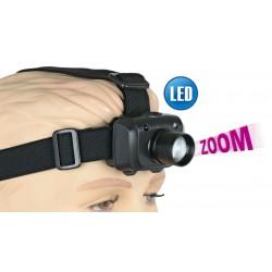 Linterna Albainox Frontal Zoom 3W 3 Funciones