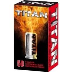 Munición TITAN Fogueo 9 mm...