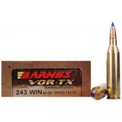 Munición Barnes .243 Win 80...