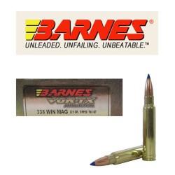 Munición Barnes .338 WM 225...